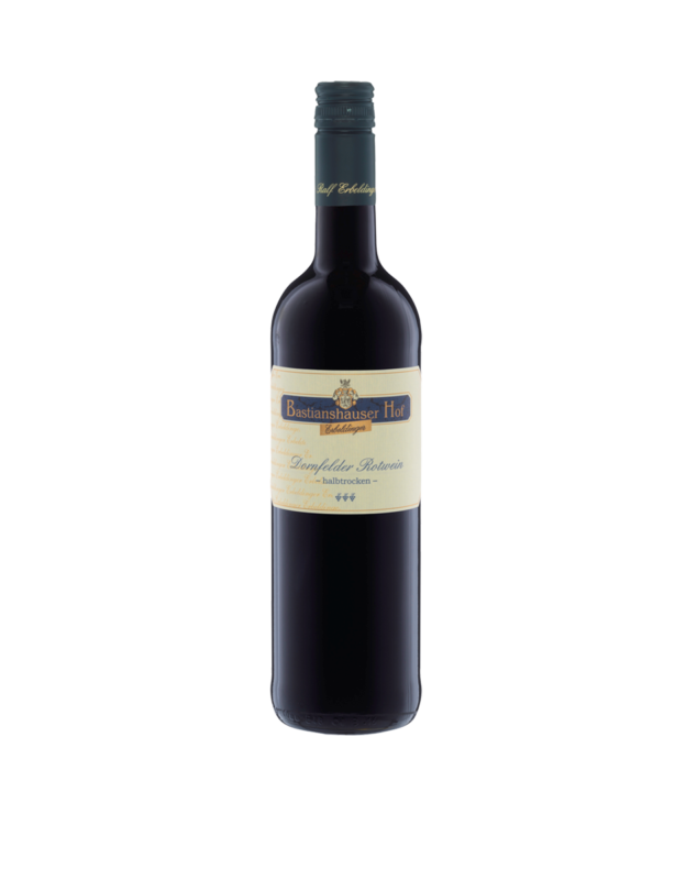 Dornfelder Rotwein halbtrocken