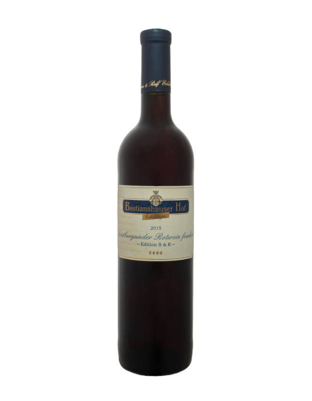 Weingut Bastianshauser Hof - 2015 Spätburgunder Rotwein feinherb
