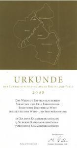Weingut Bastianshauser Hof - LWK 2008