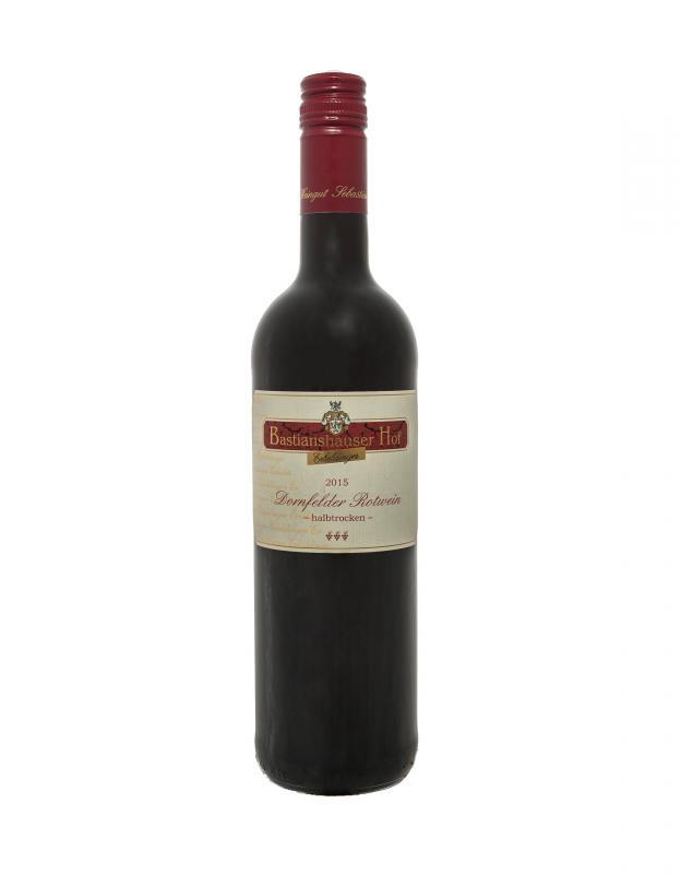 Weingut Bastianshauser Hof - 2015 Dornfelder Rotwein halbtrocken