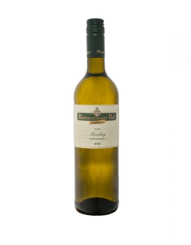 Weingut Bastianshauser Hof - 2015 Riesling halbtrocken