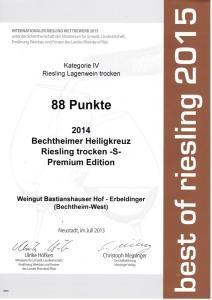 Weingut Bastianshauser Hof - Best of Riesling 2015
