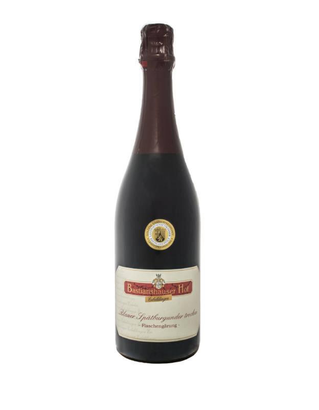 Weingut Bastianshauser Hof - Blauer Spätburgunder trocken Flaschengärung