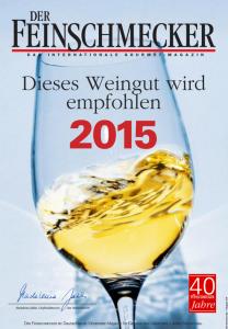 Weingut Bastianshauser Hof - Feinschmecker Urkunde 2015