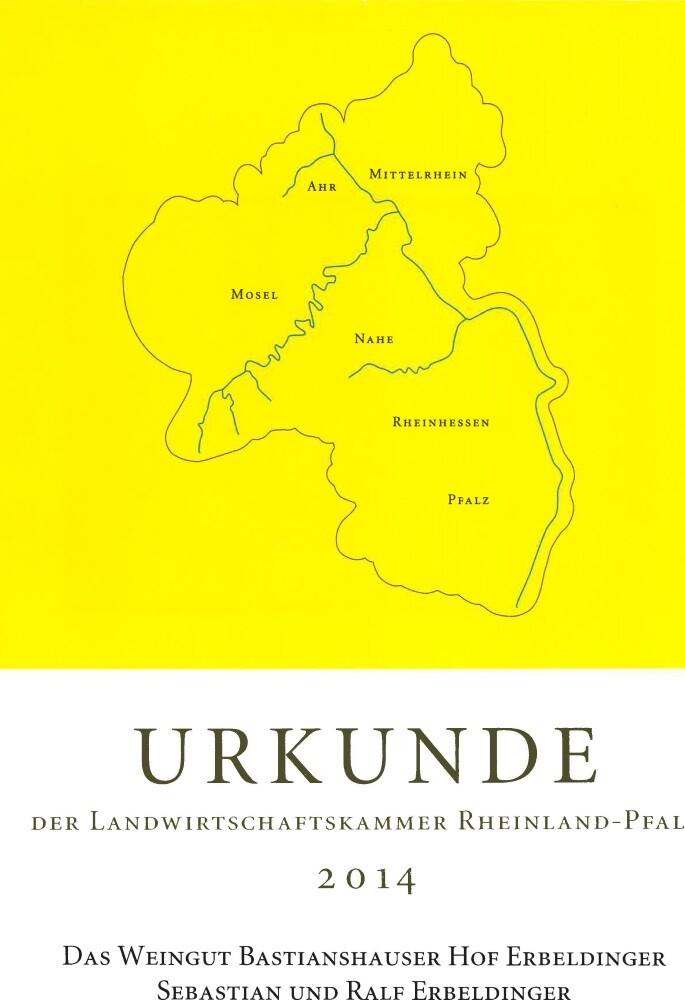 Weingut Bastianshauser Hof -LWK 2014