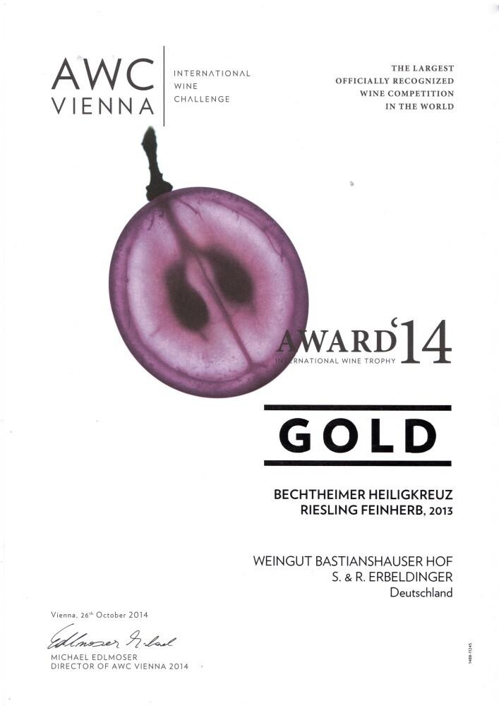 Weingut Bastianshauser Hof - AWC Vienna 2014