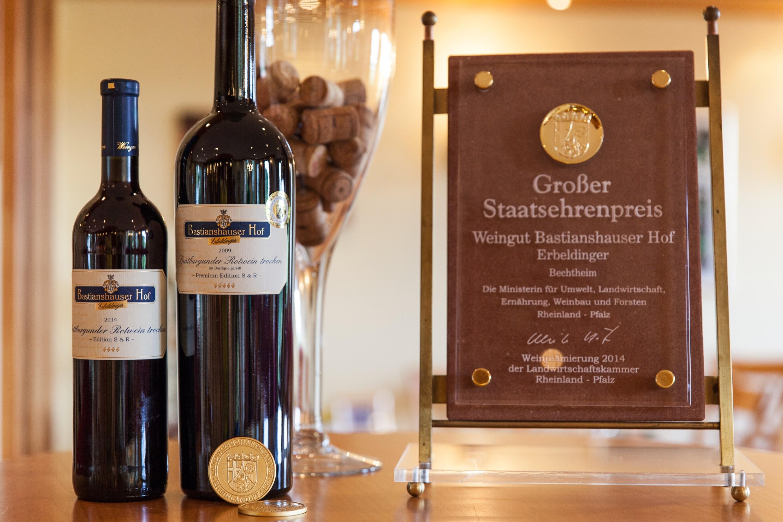Weingut Bastianshauser Hof - Auszeichnungen