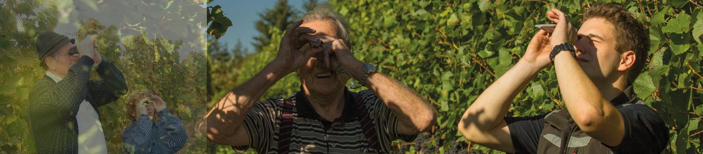 Weingut Bastianshauser Hof - Familie Erbeldinger - 3 Generationen