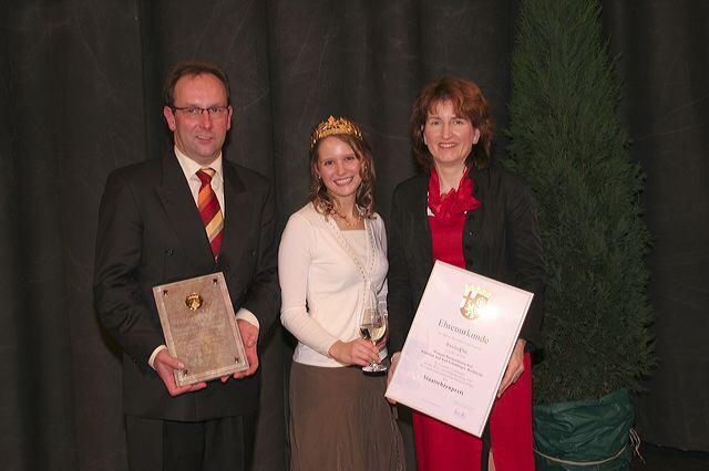 Weingut Bastianshauser Hof - Staatsehrenpreis 2007