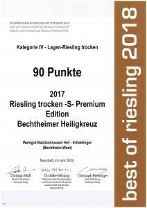 Best of Riesling 2018 Weingut Sebastian und Ralf Erbeldinger Bechtheim-West Rheinhessen