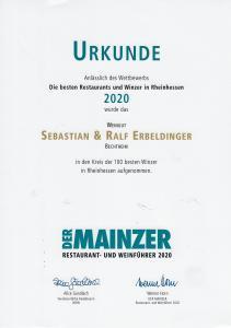 Der Mainzer Top 100 Weingüter Rheinhessen Sebastian und Ralf Erbeldinger