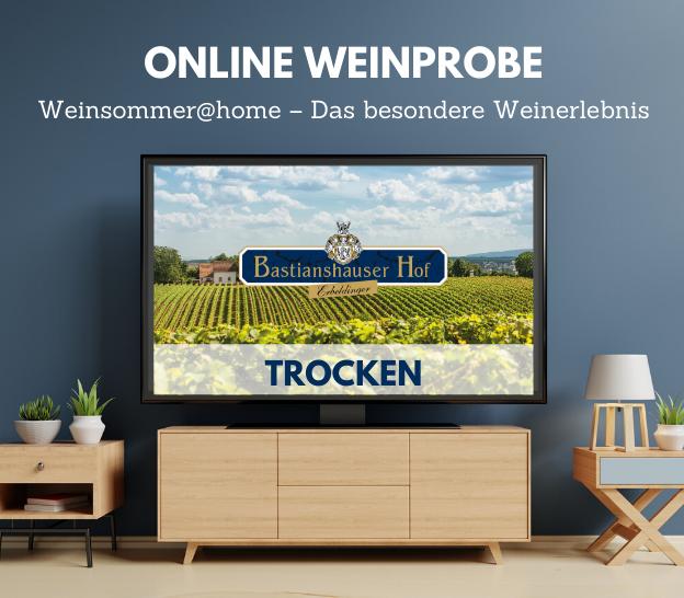 Online Weinprobe Trocken