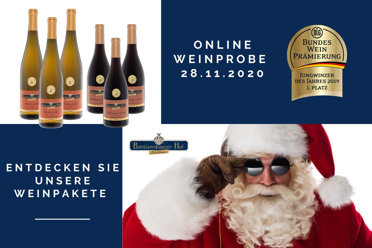 Online Weinprobe & Weinpakete