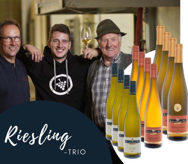 Riesling Trio Weingut Bastianshauser Hof Erbeldinger
