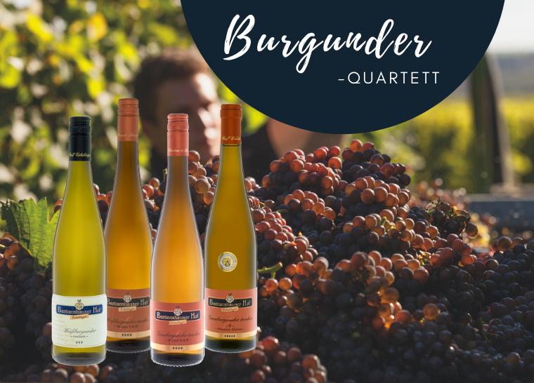 Burgunder Quartett Weingut Bastianshauser Hof Erbeldinger