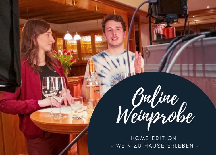 Erbeldinger Online Weinprobe Home Edition
